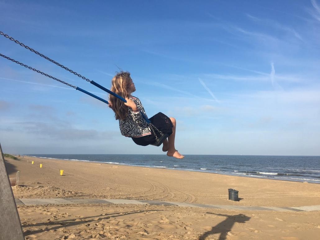 HSP kinderen strand Noordwijk