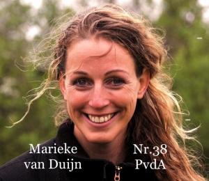Marieke van Duijn nr.38 PvdA